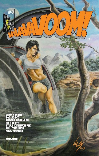 VaVaVaVoom Issue 3 Cover