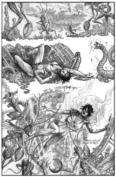 Monster Page by Kevin Rasel