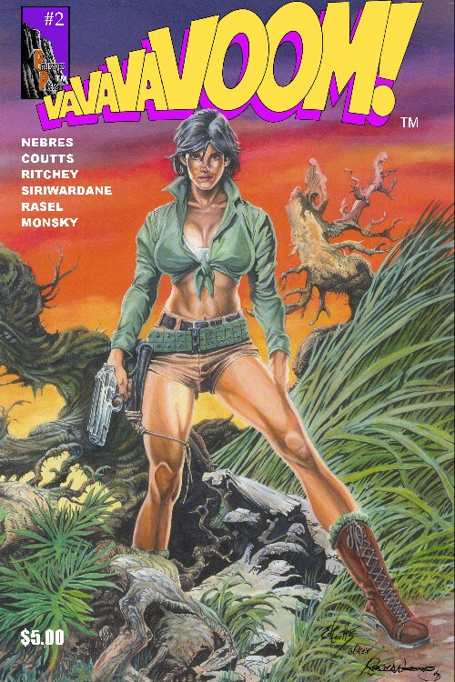 VaVaVaVoom Issue 2 Cover